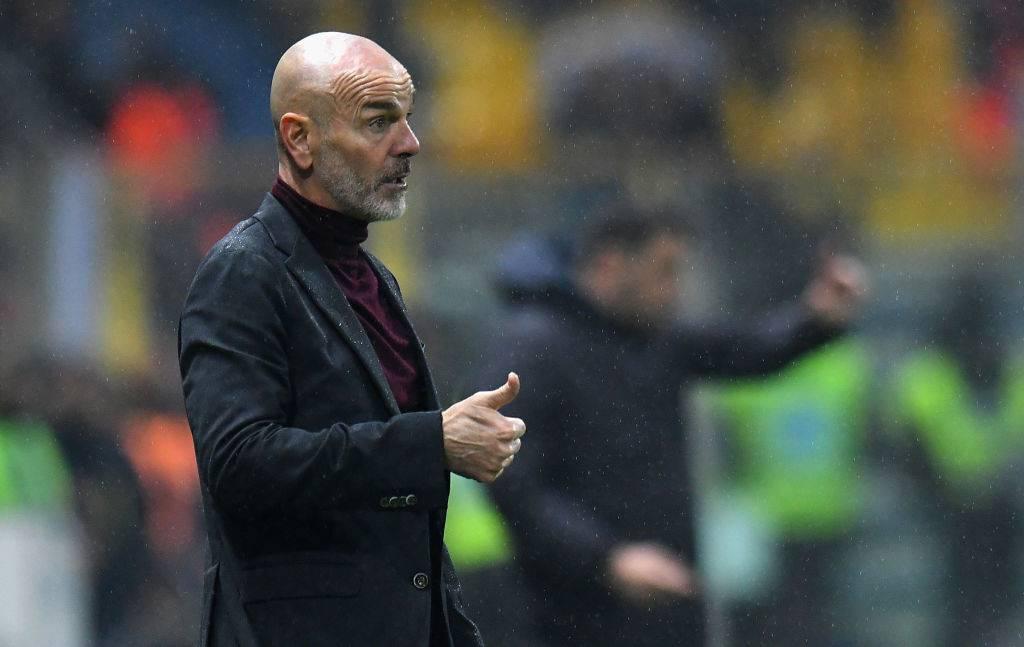 Stefano Pioli in Parma-Milan