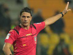 Arbitro Milan-Sassuolo Manganiello