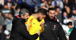 Gianluigi Donnarumma Atalanta-Milan