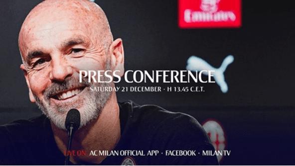 conferenza stampa Pioli