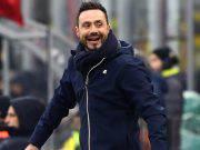 Roberto De Zerbi Milan Sassuolo