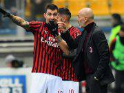 Alessio Romagnoli Stefano Pioli Parma Milan