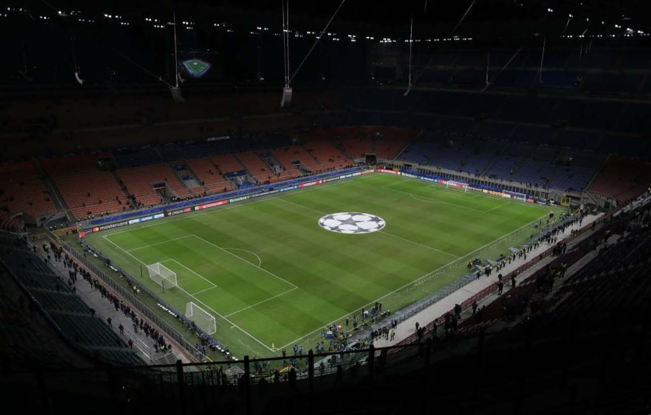 San Siro incasso record Champions League