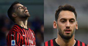 Suso Calhanoglu AC Milan