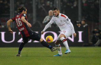Theo Hernandez Bologna Milan