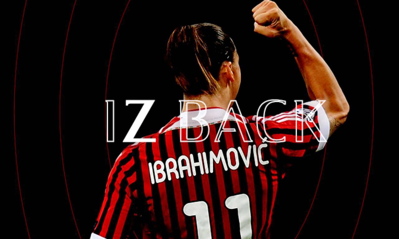 Zlatan Ibrahimovic ufficiale Milan