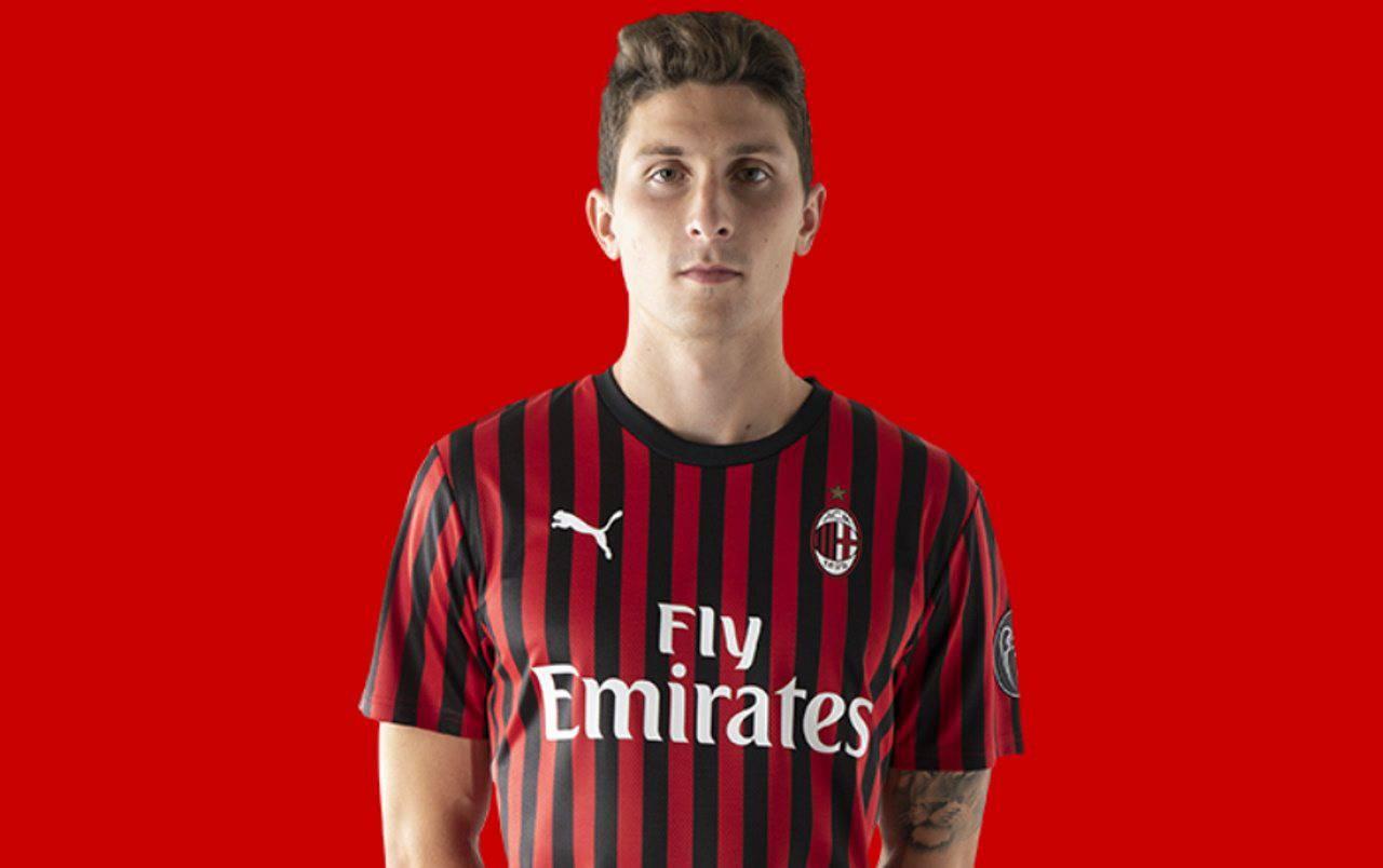 Mattia Caldara AC Milan