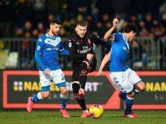 Ante Rebic Brescia-Milan 0-1