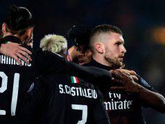 Ante Rebic gol brescia Milan