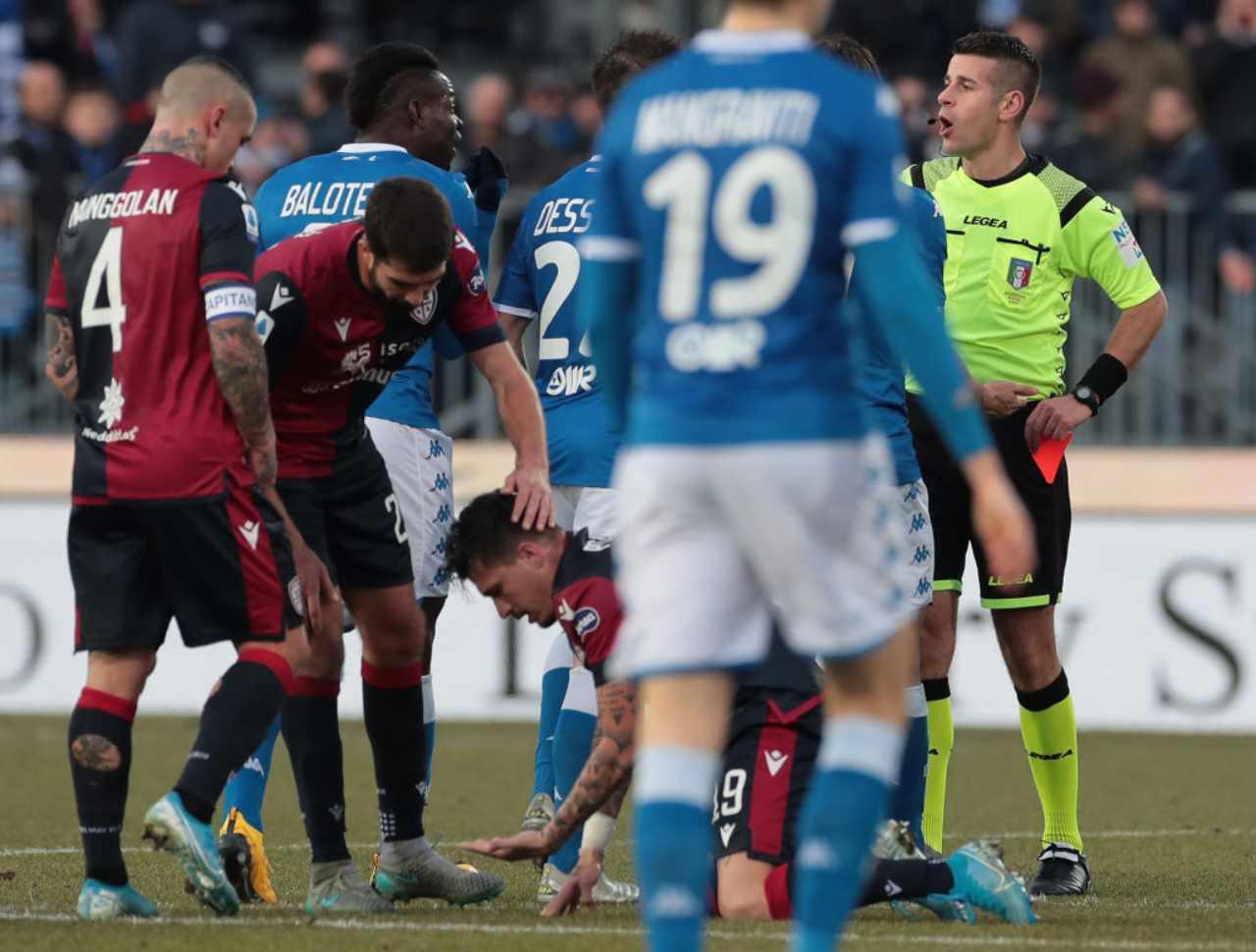 Espulsione Mario Balotelli salta Milan