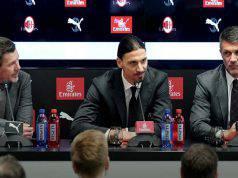 Ibrahimovic maldini boban conferenza stampa casa milan