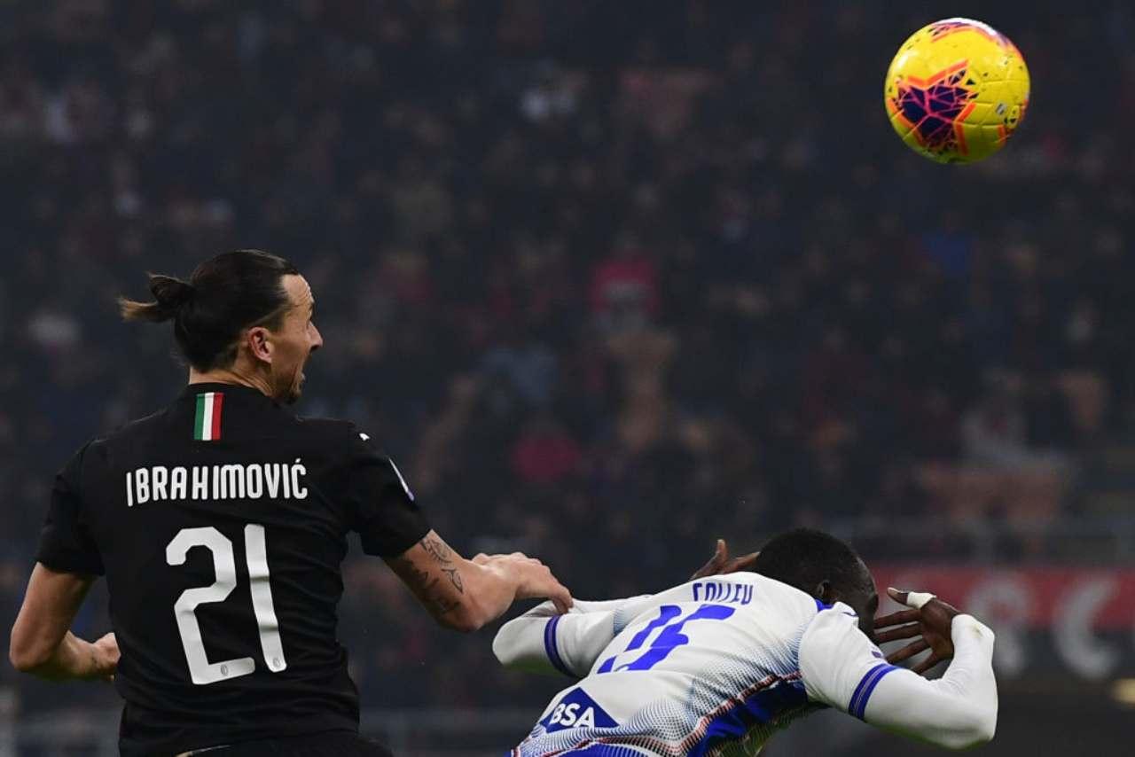 Zlatan Ibrahimovic e Colley