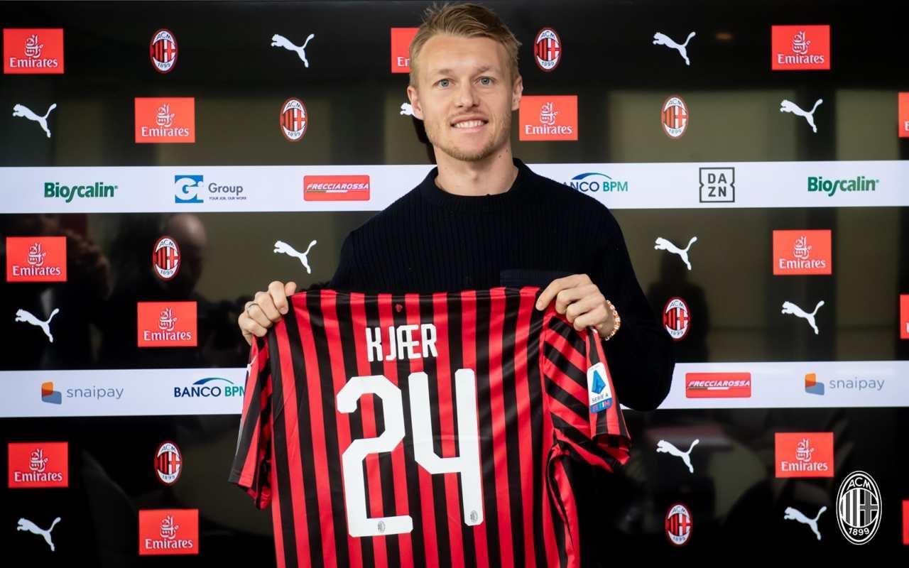 Simon Kjaer AC Milan