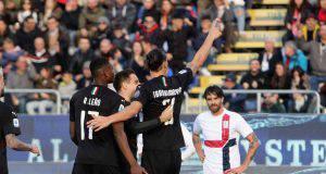 Zlatan Ibrahimovic Rafael Leao Cagliari-Milan