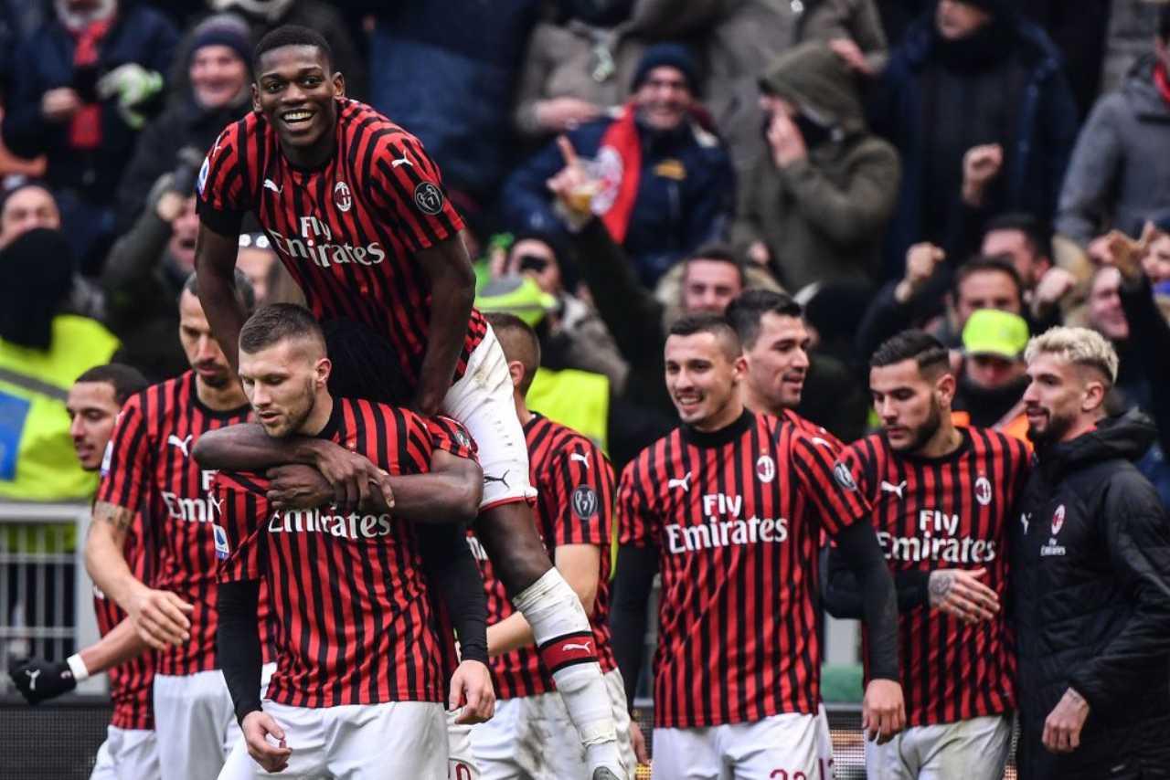 Ante Rebic Milan Udinese gol