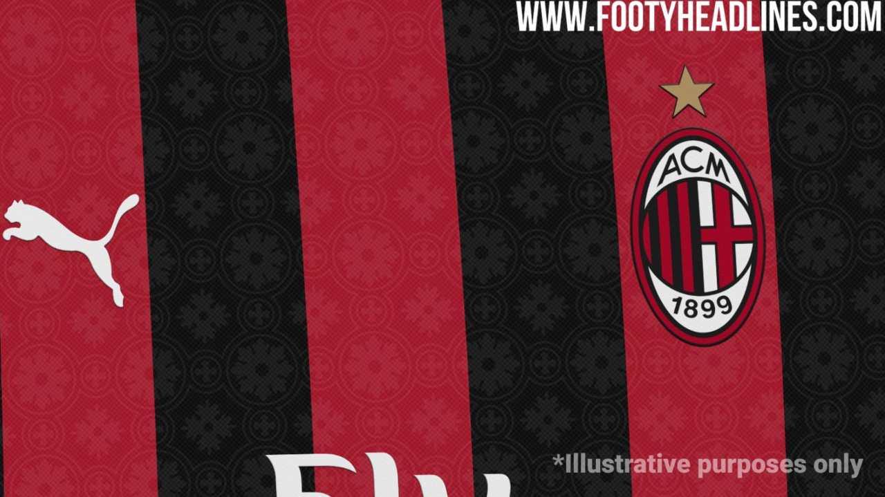 Milan maglia 2020 2021