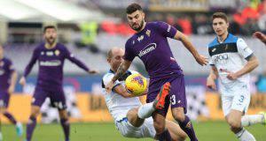 Patrick Cutrone Mattia Caldara Fiorentina Atalanta