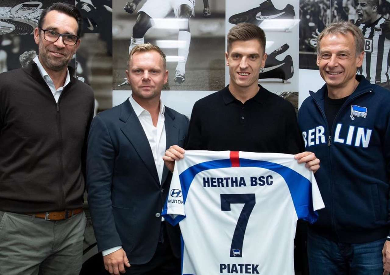 Piatek Hertha Berlino
