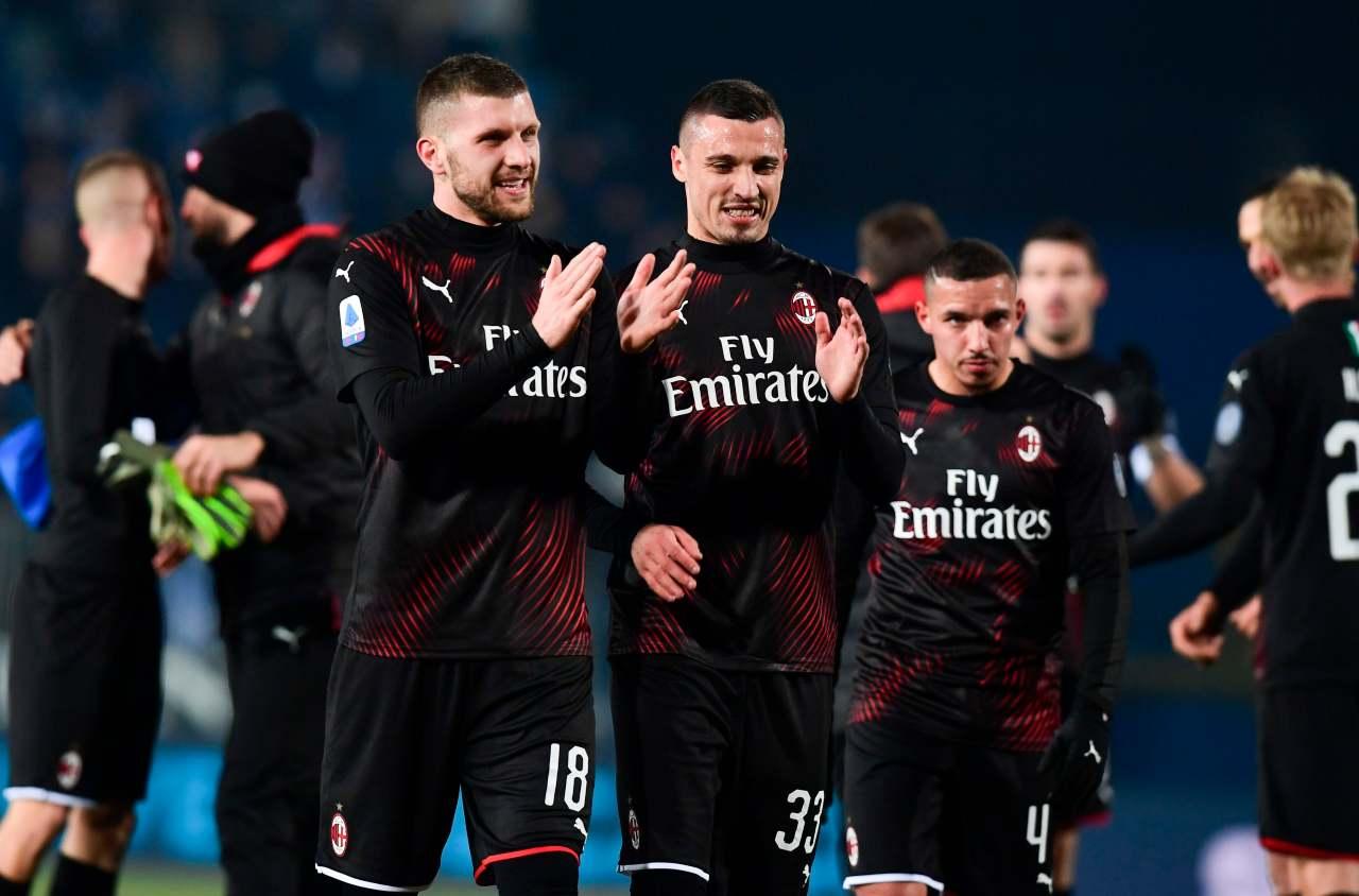 Ante Rebic Rade Krunic Brescia Milan