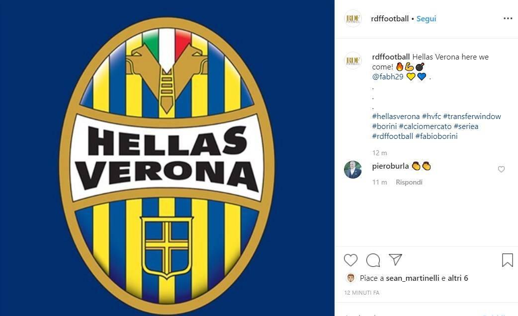 Fabio Borini Hellas Verona