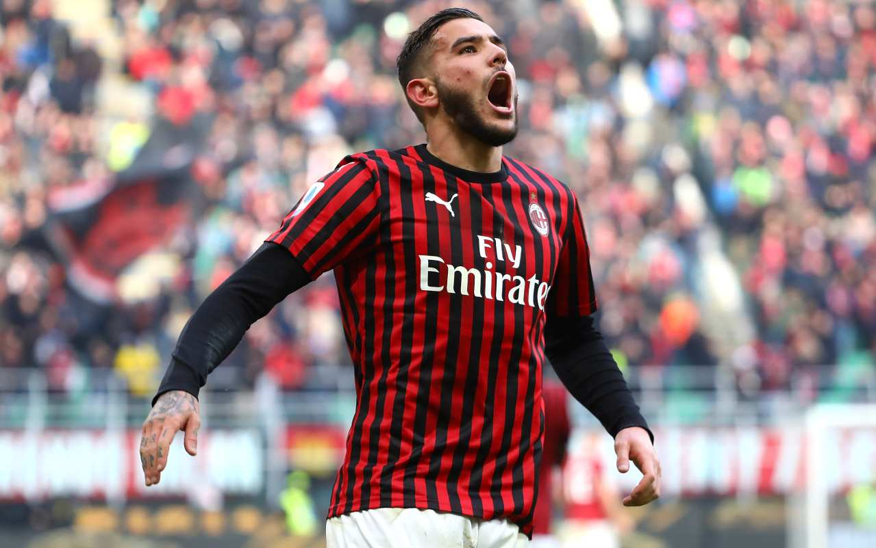 Theo Hernandez Milan Udinese