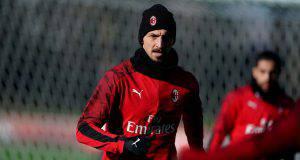 Zlatan Ibrahimovic Milanello