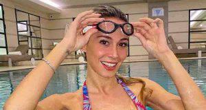 diletta leotta in piscina