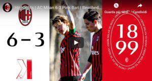 Milan Femminile News Pink Bari