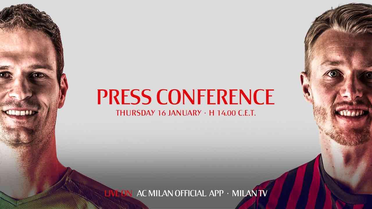 conferenza stampa kjaer begovic