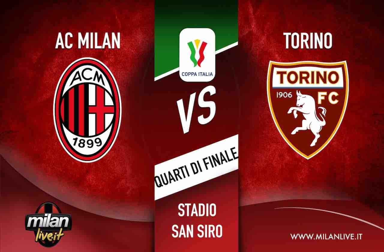 Coppa Italia, Milan-Torino 4-2: i rossoneri volano in semifinale dopo i supplementari