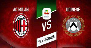 milan udinese in tempo reale