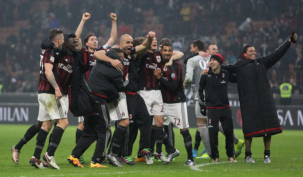 AC Milan Inter 2016