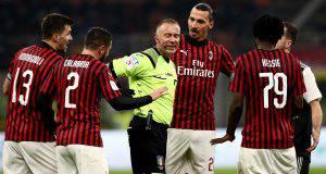 Arbitro Paolo Valeri Milan Juve