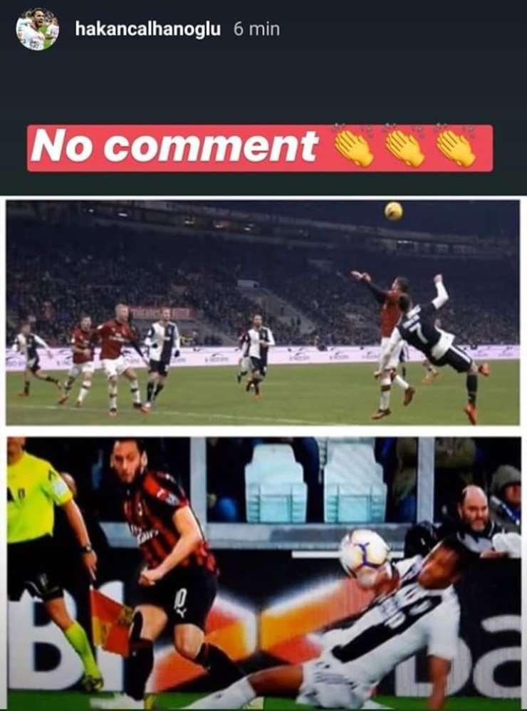 Hakan Calhanoglu Milan Juve