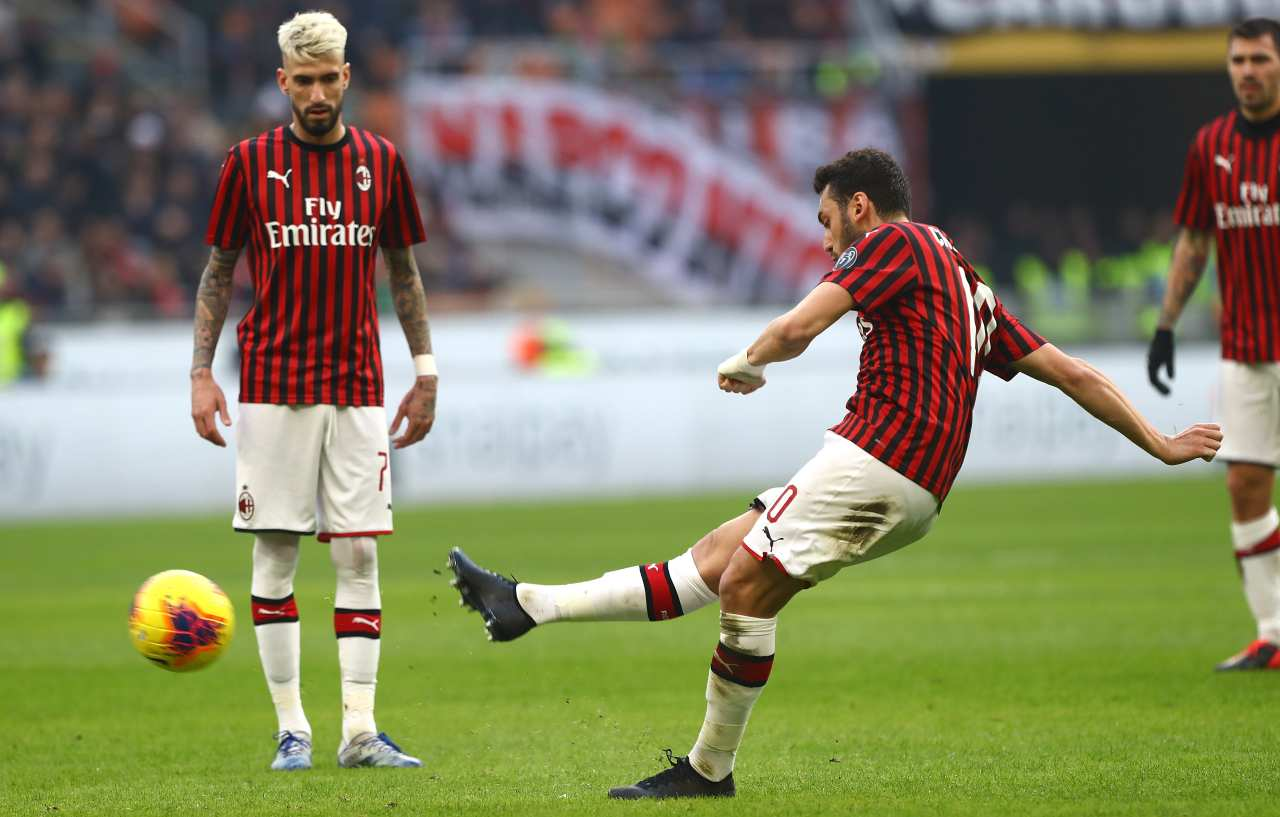 Hakan Calhanoglu Milan Verona