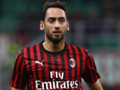 Calhanoglu convocato Milan Juventus