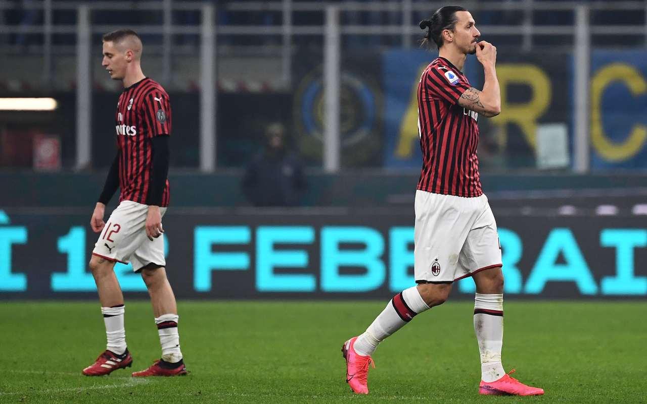 Zlatan Ibrahimovic Andrea Conti
