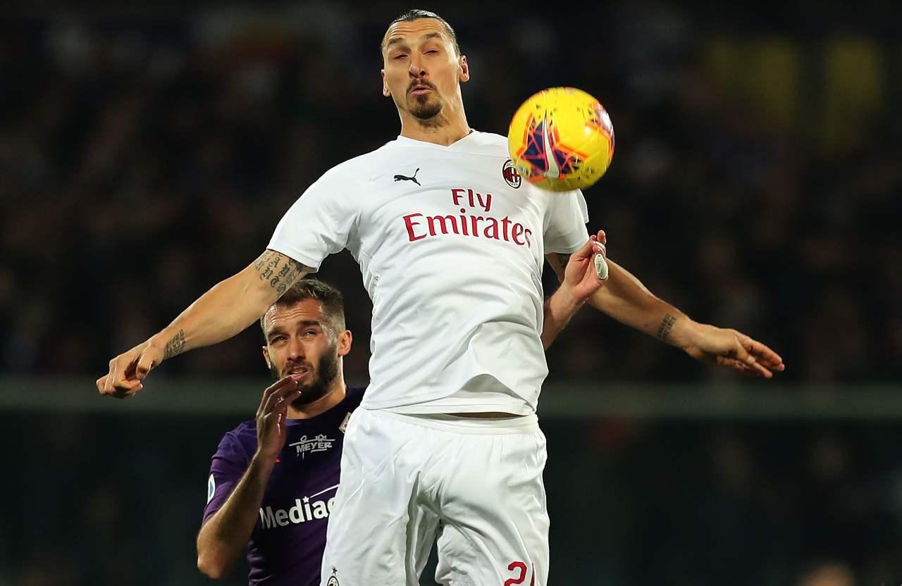 Ibrahimovic Fiorentina Milan