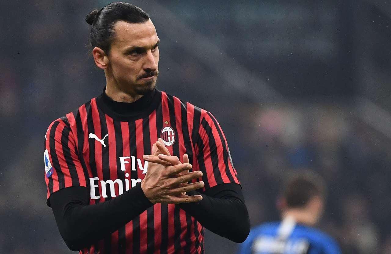 Zlatan Ibrahimovic Inter Milan derby
