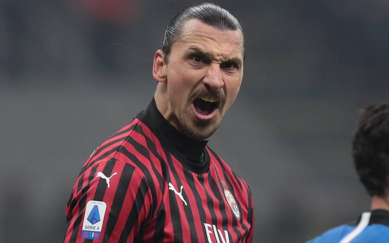 Ibrahimovic Zlatan Inter Milan derby