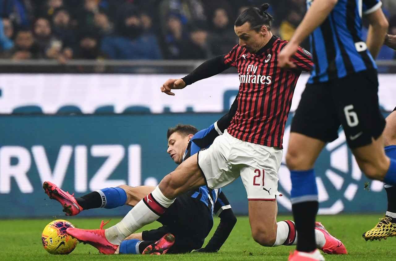 Ibrahimovic derby inter milan