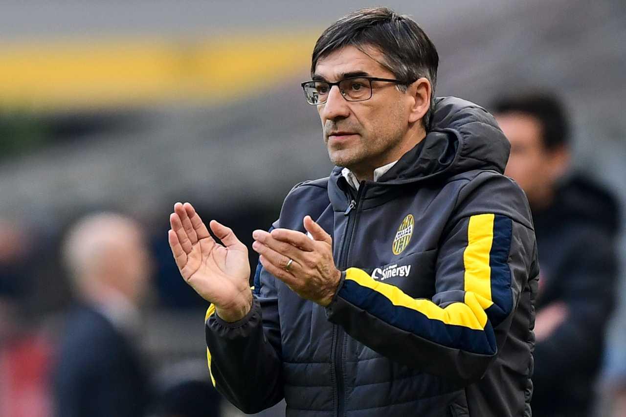 Ivan Juric Milan Verona