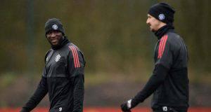 Romelu Lukaku e Zlatan Ibrahimovic