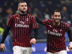Rebic Calhanoglu Inter Milan