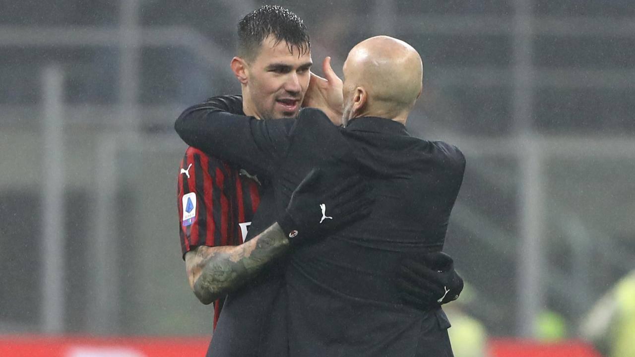 Alessio Romagnoli Pioli Milan Torino