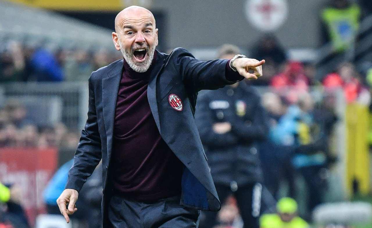 Stefano Pioli Milan Juve