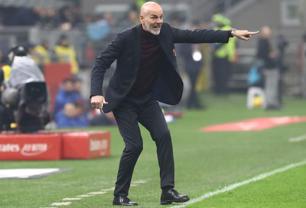 Stefano Pioli Milan Torino