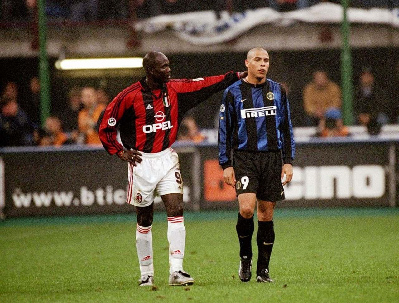 George Weah e Ronaldo