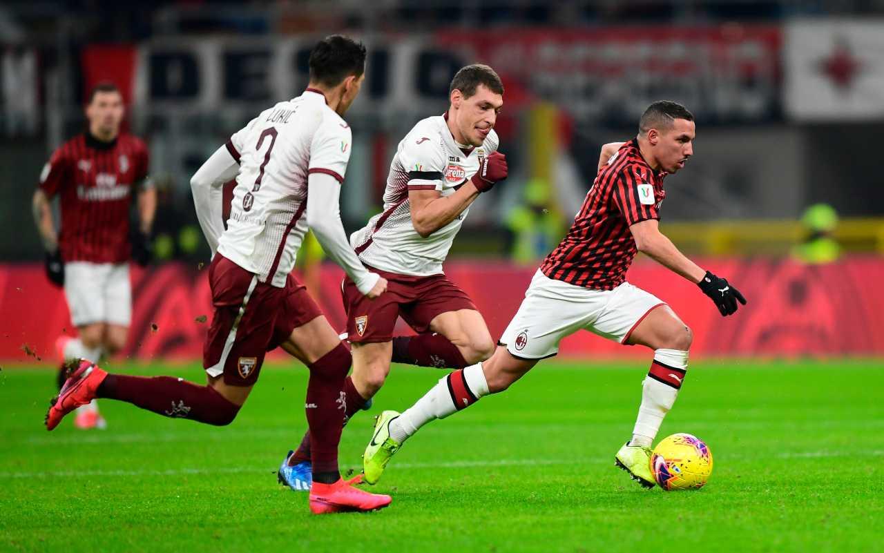 Ismael Bennacer AC Milan