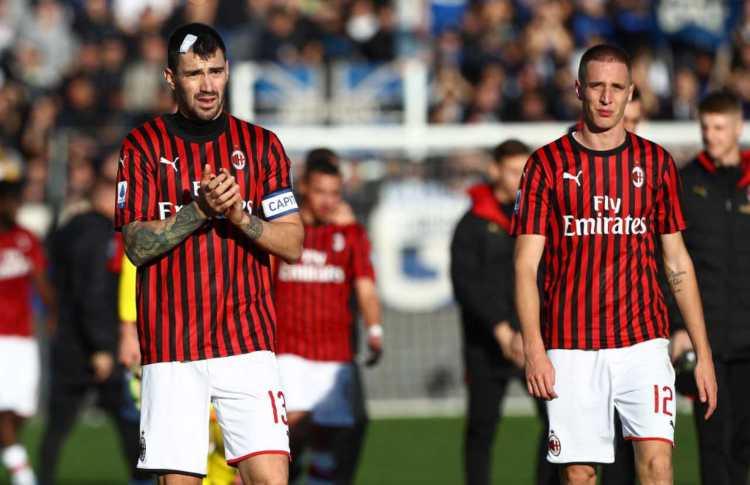 Difensori Milan rischio squalifica